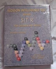 BRAND NEW Slosson Intelligence Test Revised (SIT-R) Kit for Children & Adults