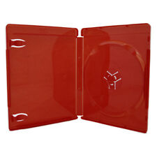 25 NEW HIGH QUALITY 14MM PS3 RED GAME CASE WITH BLU-RAY LOGO LDB-PS3RED