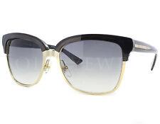 NEW Gucci 4246S 15GLF 4246 15G/LF Black Gold Grey Sunglasses