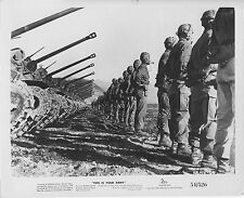 U.S. ARMY TANK BATTALION orig 1954 movie documentary photo THIS IS THE ARMY