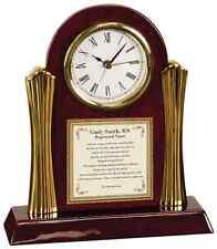 Nursing School Graduation Present Cherry Clock Practioner Registered Nurse BSN