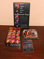 Backstreet Boys vhs A NIGHT OUT WITH THE BACKSTREET BOYS