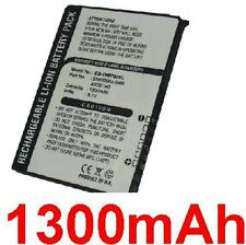 Batterie 1300mAh Pour HTC Artemis 160 200, Love, P3300, P3350, Polaris