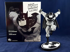DC Direct Batman Ed McGuinness Black & White Statue #1680/4000 First Edition