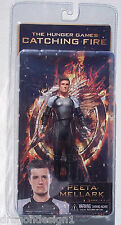 HUNGER GAMES: CATCHING FIRE. PEETA MELLARK ACTION FIGURE. 7 INCHES. NEW ON CARD