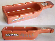 "AMAZING ULTRA RARE VINTAGE SMIRNOFF MULE CERAMIC 11"" LONG COLLECTIBLE ASHTRAY !"