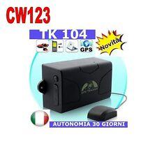 GPS TRACKER MAGNETICO TK104 LOCALIZZATORE SATELLITARE SPIA ANTIFURTO TK104 CW123