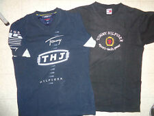 VINTAGE 1990's TOMMY HILFIGER LOT OF 2 T-SHIRTS SIZE MEDIUM & SIZE SMALL