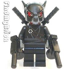 M052A Lego Custom Undeath Halloween Evil Deadpool Wolf Zombie Minifigure NEW