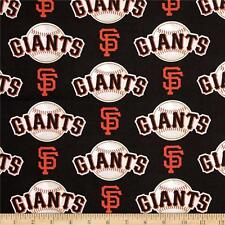 San Francisco Giants Fabric MLB Baseball Cotton Navy Red White  BTFQ  Lampshade?