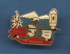 Pin's pin 156è R.I Alpine RIA Briançon Semi marathon Nevache (ref 019)