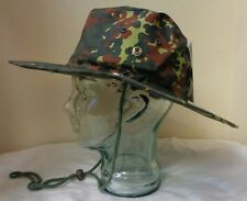 Brand New MFH Flecktarn Hot Weather Bush Hat Size 59