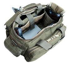 Ultimate Deluxe Tactical Pistol OD Range Bag Polyester 1200D Heavy Duty