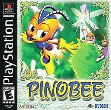 NEW Factory Sealed Pinobee Great Adventure PlayStation 1 Psone PSX Video Game