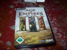 AGE OF EMPIRES 3 kpl. DEUTSCH mit Handbuch Top