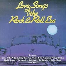 LOVE SONGS OF THE ROCK N ROLL ERA CD! W/SHIRELLES ~ FRANKIE AVALON & MORE NR-MT!