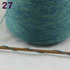 Sale Luxurious100g Mongolian Pure Cashmere Hand Knitting Cone Yarn 27 Celtic Gre
