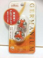 JAPAN MANTENSHA HAND/HANDS MASSAGE BALL THERAPY MINUS ION GERMANIUM ORE HEALTH