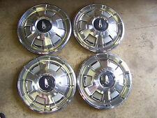 1967 PLYMOUTH HUBCAPS WHEEL COVERS 68 69 SATELLITE BELVEDERE BARRACUDA VALIANT