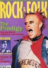 Rock & Folk #360 -The PRODIGY- Oasis, Sweet 75, L7, Fugees,…