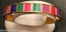 Authentic Kate Spade Color Block Bangle NWT