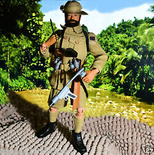 "☆ ☆ Vam Action man palitoy australiano selva Fighter 12"" figura c1966-69 ☆"