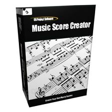 Music Sheet Score Creator Printer Notation Software CD
