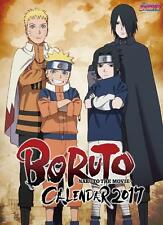 BORUTO / NARUTO THE MOVIE / Wall Calendar 2017 / From Japan / New / NARUTO /