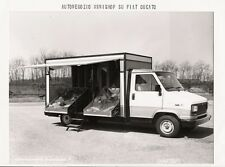 PHOTO PRESS ORIG. CARROZZERIA BONESCHI FIAT DUCATO AUTONEGOZIO MINISHOP - 1983