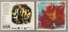 TOO MANY COOKS - TURNING TO STONE CD 1993 CANADA HTF RARE ROCK