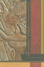 The Norton Anthology of World Literature 2nd Edition/Volume A by Sarah Lawall