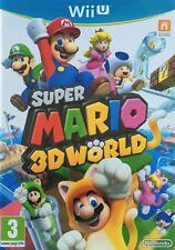 Super mario 3D world Nintendo Wii U pal complet