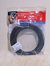 New - Watts Dishwasher Drain Hose 6ft Reinforced PVC with clamp ( 5/8 in ID )
