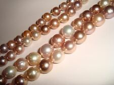 """PEARLS NEVER ENDING 40 IN""""LONG VARIES IN COLOR 1/2 INCHES ON ALL PEARLGENUINE"""