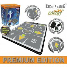 "PS2 USB Energy HD 1"" Foam Deluxe Dance Pad 4 in 1 for PS/PS2, Xbox and PC"