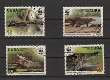 WWF 2003  Krokodile  MiNr.4553/56   gestempelt