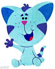 """6"""" BLUES CLUES  KITTEN  WALL SAFE STICKER CHARACTER BORDER CUTOUT"""