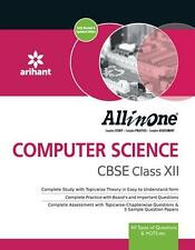 ARIHANT CBSE All-In-One CBSE CLASS 12TH COMPUTER SCIENCE - 2016 edition