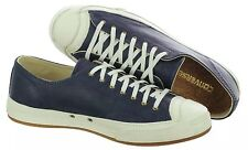Converse Jack Purcell JP OX 142664C Leather Navy Casual Shoes Mens 8.5 Woman 10