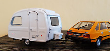 POLONEZ MR87 + CARAVAN NIEWIADOW N126 ( 1980 )  -- 1/43 -- IXO/IST -- NEW