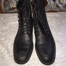 Forever 21 Faux Leather Black Men's Boots Size 9