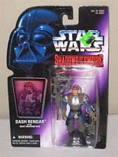 Hasbro Star Wars Shadows of the Empire DASH RENDAR with Heavy Weapons Pack