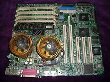 MSI MS-6377 Dual Socket 370 Server motherboard with 2x Pentium III 1000MHz CPU