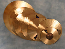Sabian Box Set 6-Pack of HHX Natural Cymbals - Brand New with Warranty!
