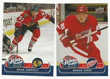 Marian Hossa & Brian Campbell 2008 / 09 UD Winter Classic Cards, #WC6 &# WC11