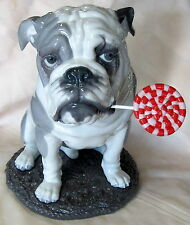LLADRO #9234 BULLDOG WITH LOLLIPOP BRAND NEW IN BOX DOG ANIMAL CANDY SAVE$ F/SH