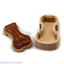 New High Quality Violin Shape WoodenCase Rosin for Violin Viola Cello 9004 Rosin