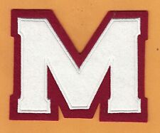 1935 MONTREAL MAROONS LARGE 6 inch OFFICIAL JERSEY PATCH NHL WILLABEE WARD
