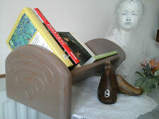 Genuine Vintage Book Stand/Rack~Solid Oak Wood~Annie Sloan~Interior Design Decor
