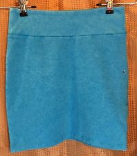 American Eagle Stretch Mini Skirt Teal Blue - Womens Size XXS - NWOT